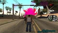 New Pink Effects para GTA San Andreas