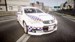 Holden VF Commodore SS Queensland Police [ELS] para GTA 4