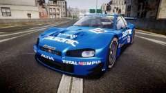 Nissan Skyline R34 2003 JGTC Calsonic para GTA 4