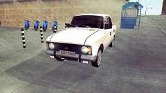 Moskvich 412 Blanco Tragar