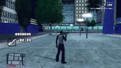 C-HUD GTA 4 with Map para GTA San Andreas