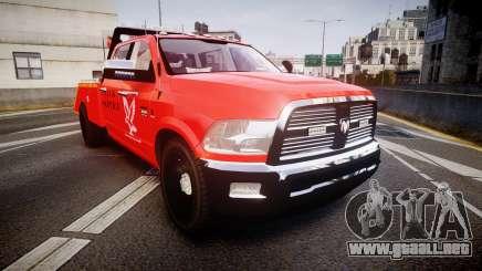Dodge Ram 3500 Falck Service [ELS] para GTA 4