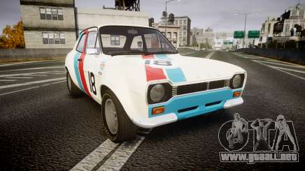 Ford Escort RS1600 PJ18 para GTA 4