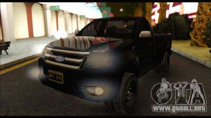 Ford Ranger Cabina Simple 2013 para GTA San Andreas