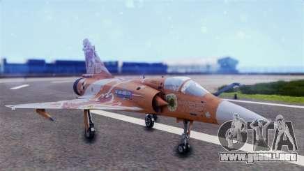 Dassault Mirage 2000-5 The Idol Master 2 para GTA San Andreas