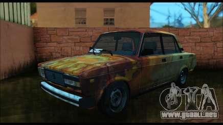 VAZ 2107 Rusty para GTA San Andreas