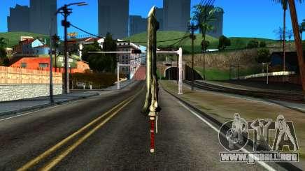 New Katana para GTA San Andreas