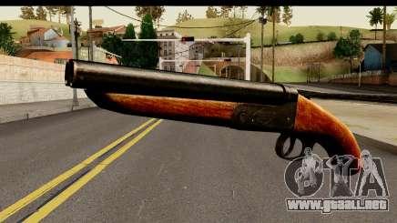 Sawnoff Shotgun HD para GTA San Andreas