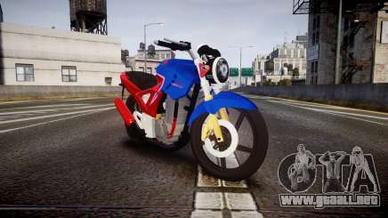 Honda Twister 2014 para GTA 4