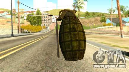 Grenade from Global Ops: Commando Libya para GTA San Andreas