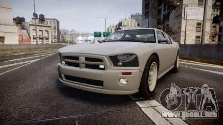Bravado FBI Buffalo Restyling para GTA 4