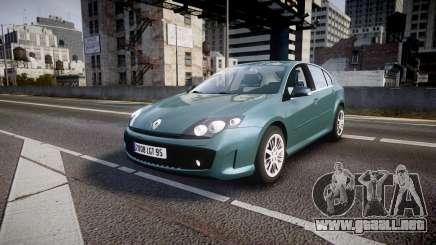 Renault Laguna III GT 2008 para GTA 4