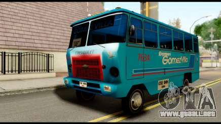 Chevrolet Bus para GTA San Andreas