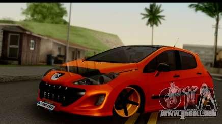 Peugeot 308 ENS Tuning para GTA San Andreas