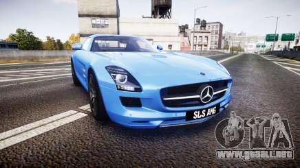 Mersedes-Benz SLS AMG 2010 para GTA 4