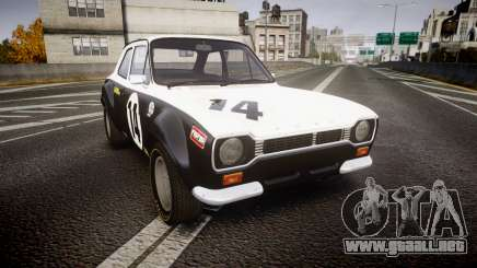 Ford Escort RS1600 PJ14 para GTA 4