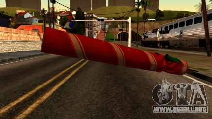 New Year Rifle para GTA San Andreas