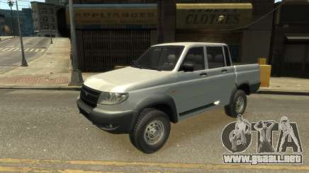 UAZ Patriot Pickup v.2.0 para GTA 4