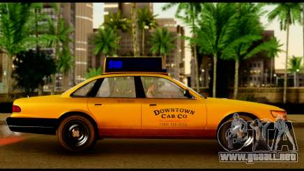 GTA 4 Vapid Stanier Downtown Cab para GTA San Andreas