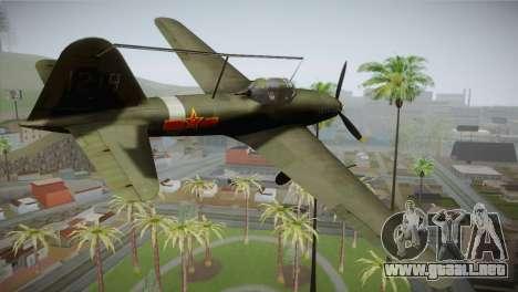 ИЛ-10 de la Fuerza Aérea China para GTA San Andreas left