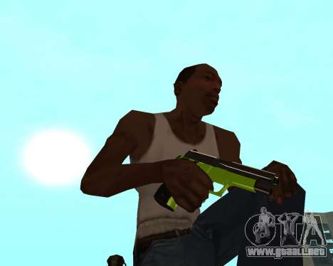 Sharks Weapon Pack para GTA San Andreas séptima pantalla