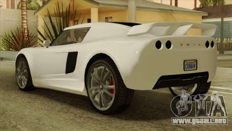 GTA 5 Coil Voltic v2 IVF para GTA San Andreas left
