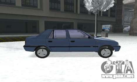 Dacia Super Nova para GTA San Andreas vista posterior izquierda