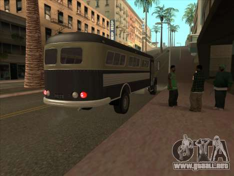 Autobús из GTA 3 para vista lateral GTA San Andreas
