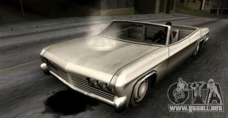 Fugas de aceite para GTA San Andreas