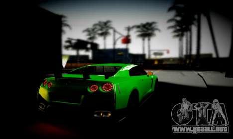 Blacks Med ENB para GTA San Andreas quinta pantalla
