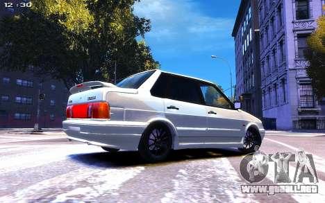 Lada 2115 para GTA 4 visión correcta