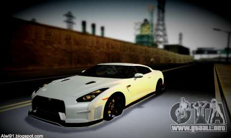 Blacks Med ENB para GTA San Andreas novena de pantalla