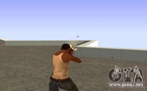 M4A4 Вой CS:GO para GTA San Andreas sucesivamente de pantalla