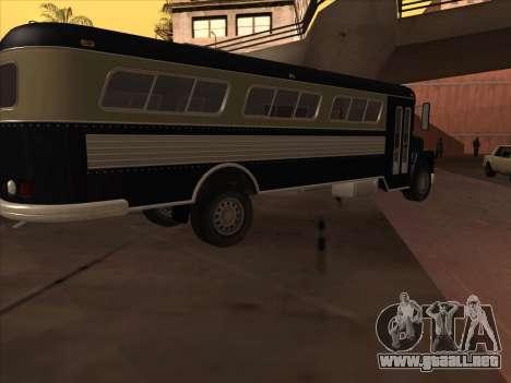Autobús из GTA 3 para GTA San Andreas vista posterior izquierda
