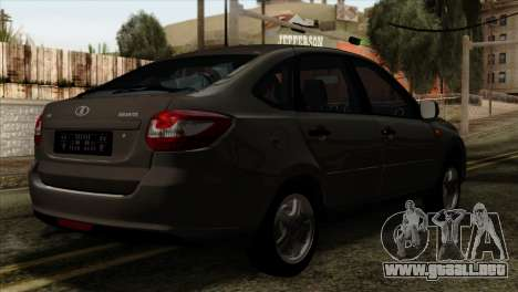 Lada Granta Liftback para GTA San Andreas left