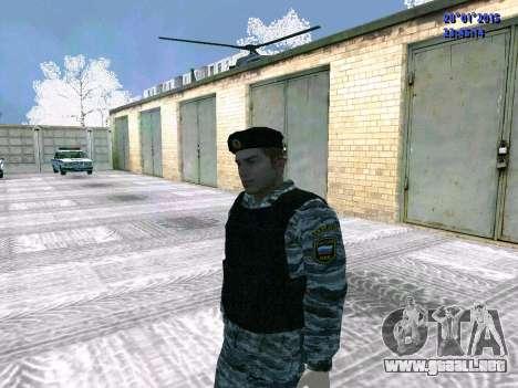 El OMON de combate para GTA San Andreas tercera pantalla
