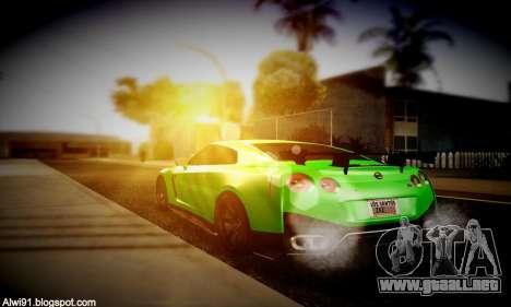 Blacks Med ENB para GTA San Andreas sexta pantalla