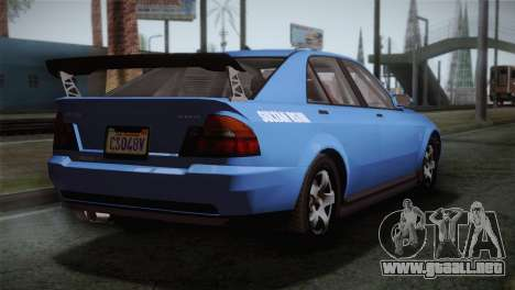 GTA 5 Karin Sultan IVF para GTA San Andreas left