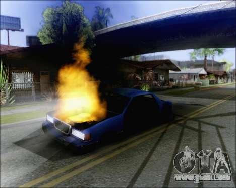Montar en soplado de coches para GTA San Andreas