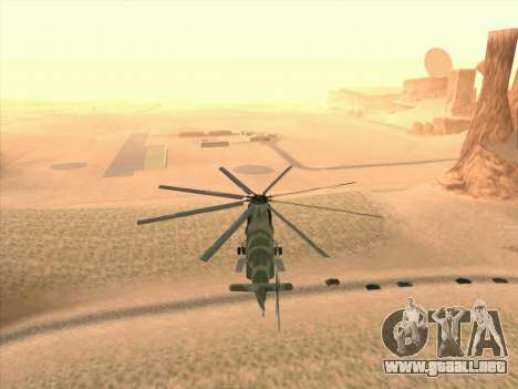Mi 26 para vista lateral GTA San Andreas