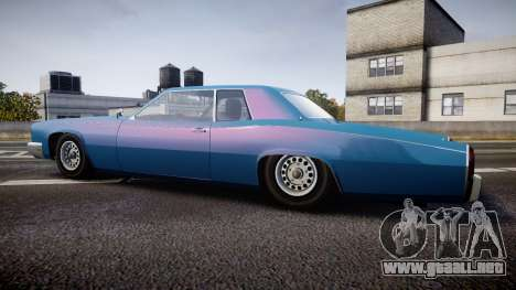 Albany Buccaneer San Andreas Style para GTA 4