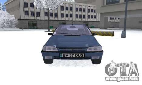 Dacia Super Nova para la visión correcta GTA San Andreas