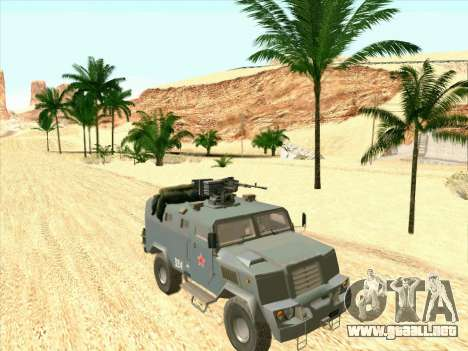 Blindados De Oso para GTA San Andreas left