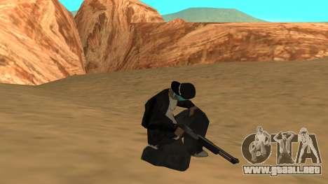 Standard HD Weapon Pack para GTA San Andreas sucesivamente de pantalla
