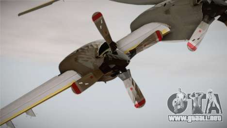 German Navy P-3C Orion MFG 3 50th Anniversary para la visión correcta GTA San Andreas
