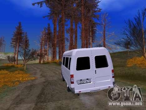 GAZ 2705 para visión interna GTA San Andreas