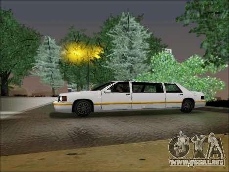 Elegant Limousine para GTA San Andreas left
