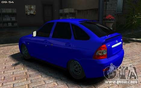 Lada 2172 2012 para GTA 4 left