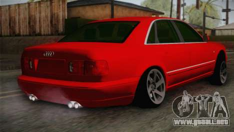 Audi A8 2000 para GTA San Andreas left