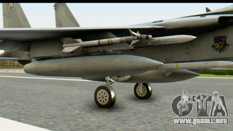 F-15J Mitsubishi Heavy Industries para la visión correcta GTA San Andreas